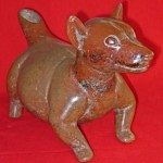 photo of a ceramic dog figure
